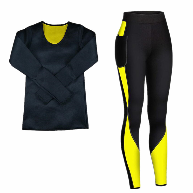 Women New Thermal Underwear Sets Shapers Compression Neoprene Pants Sweat Quick Drying Thermo Underwear Girl Clothing Long Johns