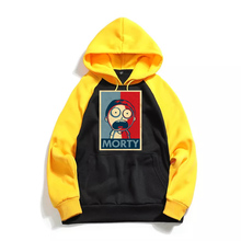 2019 Autumn New Rick and Morty Men Hoodies Cotton Funny Print Hoodie Man Casual hoody Sweatshirt Raglan Long Sleeve Coats
