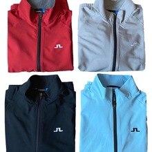Golf-Jacket-Light Windbreaker Men Detachable Short-Sleeves Elastic Men's Single