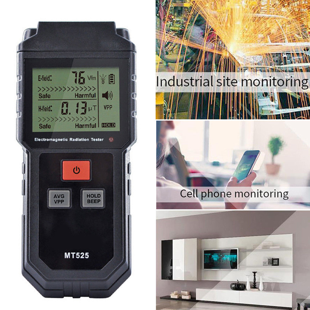 Hot Mini LCD Digital Electromagnetic Radiation Detector EMF Meter Geiger Tester