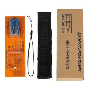 Image 5 - Free shipping 20mW VFL Fiber Optic Cable Tester Pen Visual Fault Locator 20KM 650nm FP LD laser