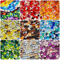 250g/pack Crystal Glass Mosaic Tile Irregular Shape DIY Hobbies for Kids Glitter Shiny Mixed Mosaic Stone Handmade Art Materials