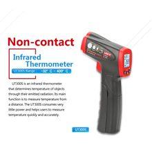 UNI-T Industrial Handheld Digital Infrared Thermometer Laser Non-Contact Range UT300S Digital Temperature Sensor Gun Handheld