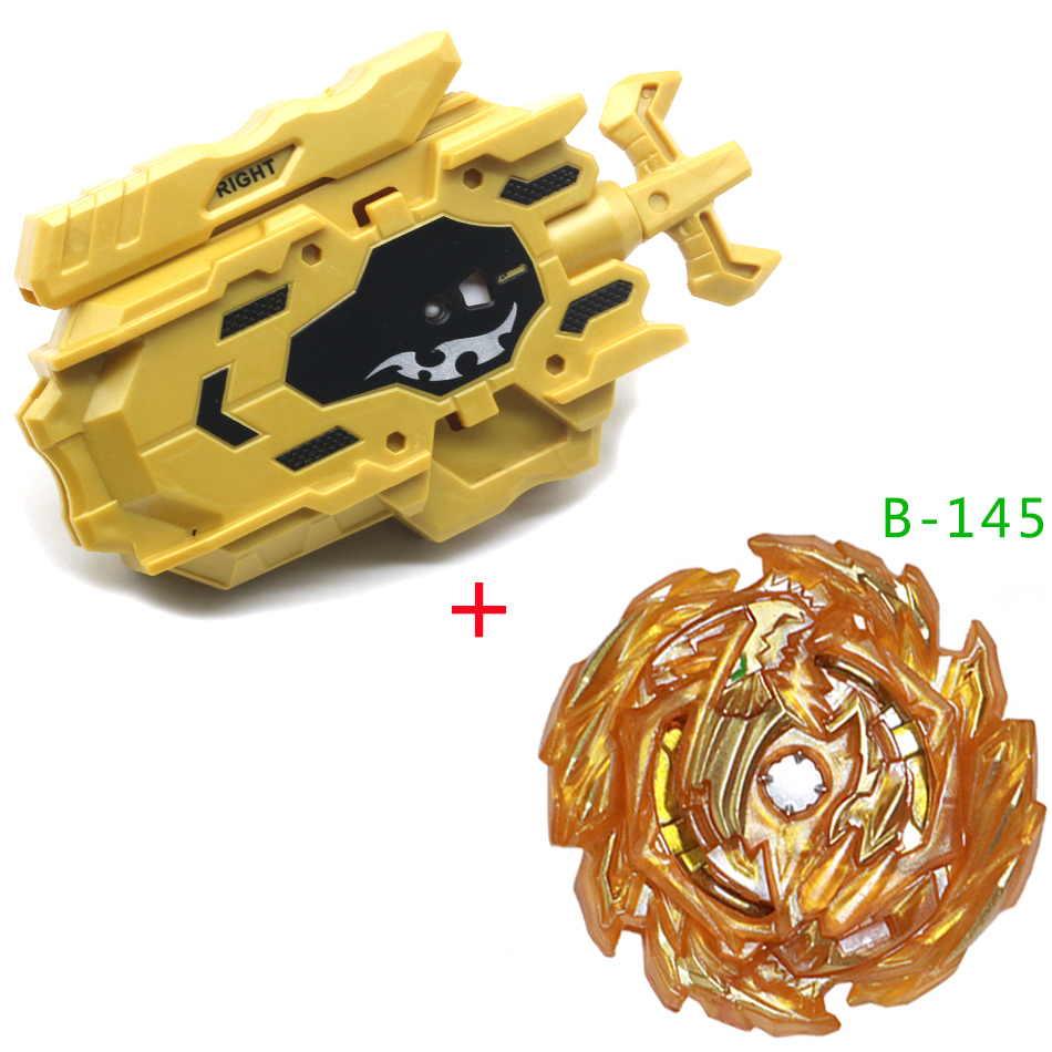 All Models Gold Launchers Beyblades Burst GT B150 B-145 With 2 Wire Launcher Metal Booster Top Starter Gyro Spinning Fight Toy