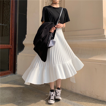 Ruffled Chiffon Skirts for Women Online