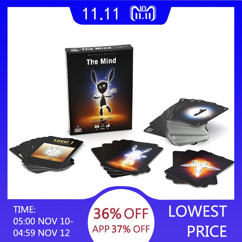 2019 Newest The Mind Card Puzzle Board Game Card Toys For Over 14 Years Old