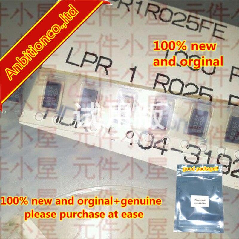 10pcs 100% New And Orginal Chip Resistor LPR1R025FE 2512-0.025R 25mR 1% 1W In Stock