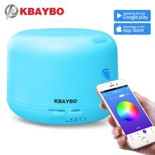KBAYBO الهواء المرطب مع APP التحكم عن بعد الكهربائية زيت عطري الناشر الروائح ضباب صانع للمنزل غرفة نوم