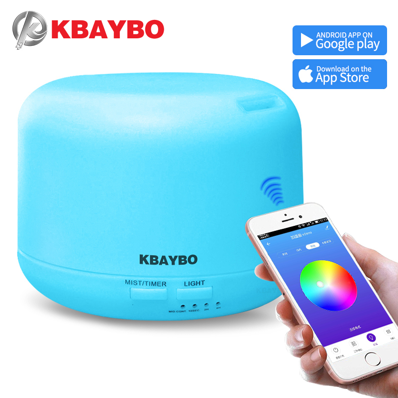 KBAYBO Air Humidifier With APP Remote Control Electric Aroma Essential Oil Diffuser Aromatherapy Mist Maker For Home Bedroom
