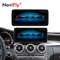 NaviFly 10.25 IPS Screen 8 core Android 9.0 Car GPS Navigation player For Mercedes Benz C Class W205 2014 2018 NTG5.0 With WIF