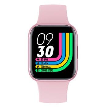 RUNDOING QY01 women smart watch 1.54 inch full touch screen 10 sport models blood pressure oxygen monitor sport smartwatch men 8