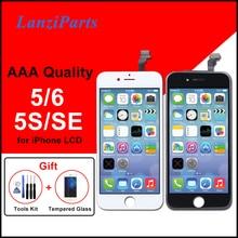 Écran AAA pour iPhone 5 5S 5C SE 6 LCD écran numériseur assemblée pas de Pixel mort pour iPhone 6 LCD