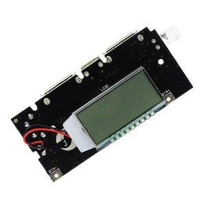 Image 3 - Bảo Vệ Tự Động! 2 Cổng USB 18650 Sạc Pin PCB Mô Đun Nguồn 5V 1A 2.1A Điện Di Động Ngân Hàng Điện Thoại DIY LED Màn Hình LCD mô Đun