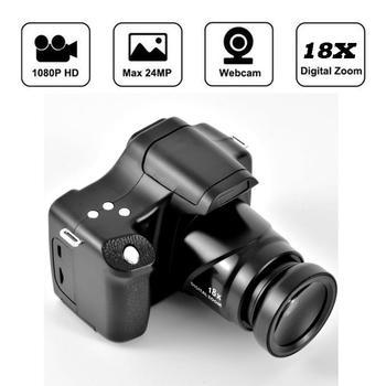 Dijital kamera CMOS sensör 18x Hd dijital kamera aynasız 1080p 3.0 inç Lcd ekran Tf kart kamera kamera Video kaydedici