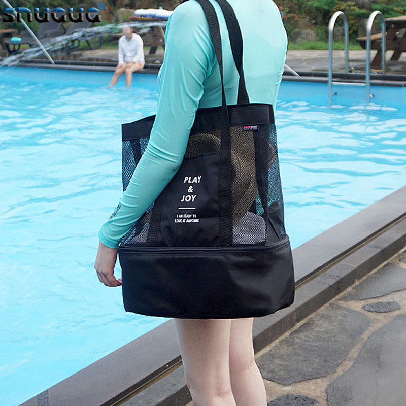 Dry And Wet Waterproof Fitness Bag Outdoor Sport Swimming Bag Quality Training Gym Bag Shoes Handbag Sporting Tote Organizer