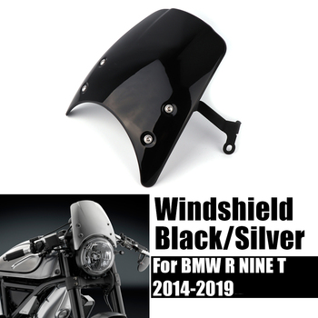 for bmw r ninet nine t 9t racer scramble urban r9t 2014 2019 motorcycle tail mount license plate bracket rear holder accessories Windshield Windscreen For BMW R NINE T NINET 2014-2019 High Quality Headlight fairing R9T R NINET Motorcycle Parts