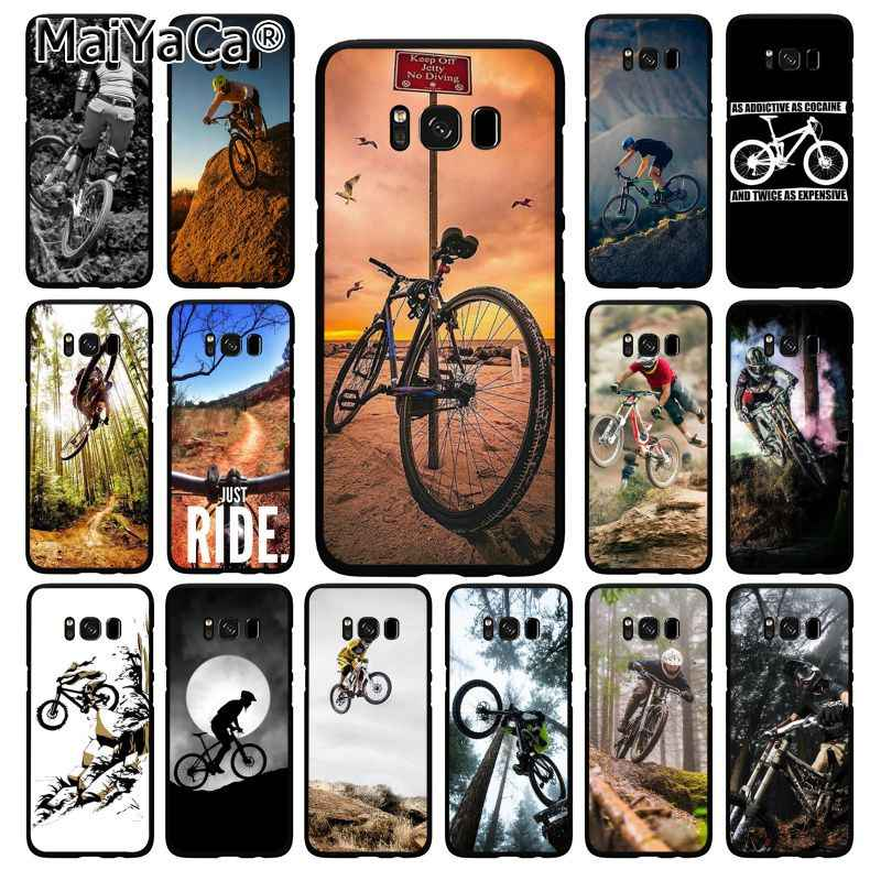 MaiYaCa Amazing Mountain จักรยานจักรยาน MTB ออกแบบโทรศัพท์กรณีสำหรับ Samsung Galaxy S10 S10E S6 S7 S8 S9 PLUS S10lite s5 M10 20