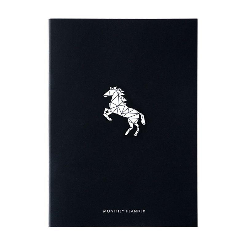 Записная книжка ежедневник Органайзер А4 дневник ежемесячный каваи руководство книга - Цвет: B