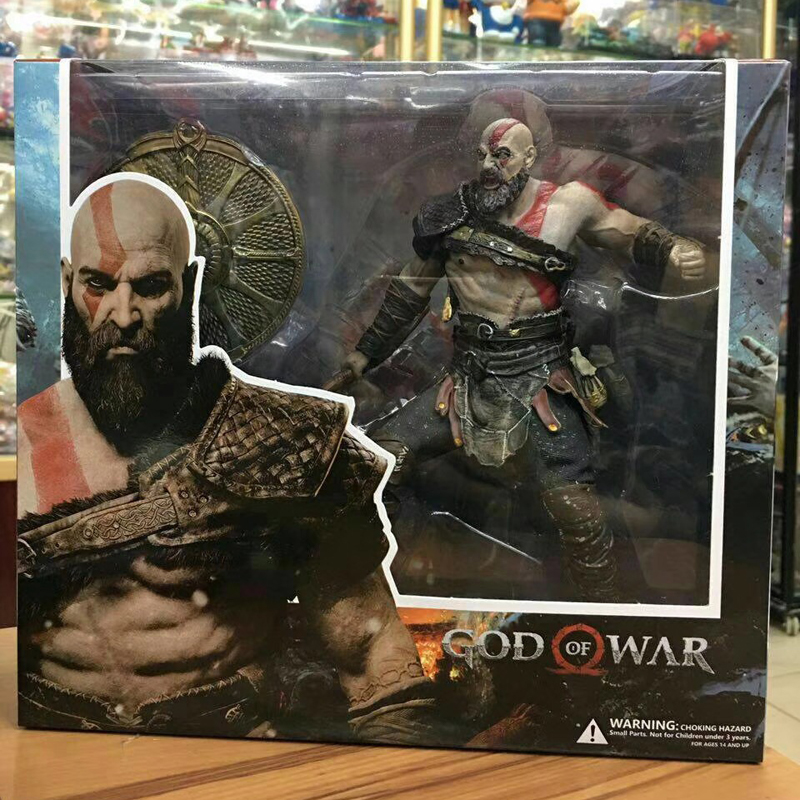 God Of War 4 Kratos Figure Toy Doll 9