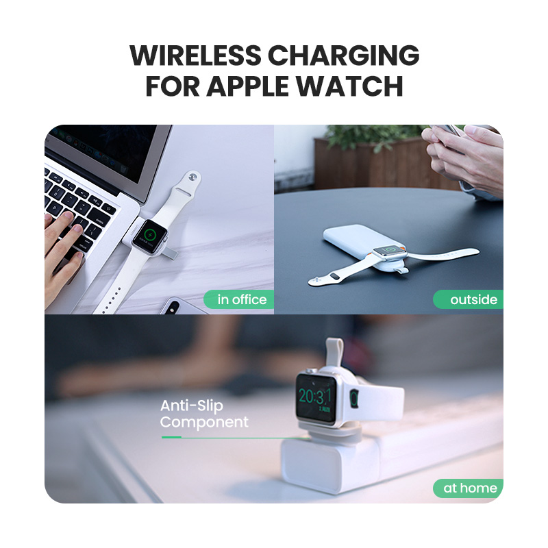 Image 2 - Ugreen Wireless Charger for Apple Watch Charger Series 5 4 3 2 1  Portable MFi USB Charger For Apple 3 Magnetic Wireless ChargingMobile  Phone Chargers