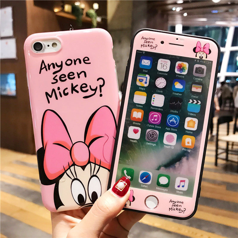 Cute Phone Case+screen Protector For iPhone 11 Pro