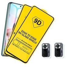 Note10 pro,Película para Xiaomi Redmi Note10 9 PRO pelicula de vidro Note9S lente proteção Note 9PRO pelicula de vidro Redmi Note 10 PRO Película