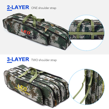 Two/Three Layer 80cm / 90cm Fishing Rod Reel Bag Pole Gear T