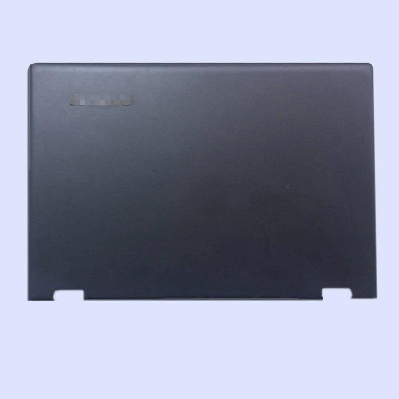Новая Оригинальная ЖК-задняя крышка для ноутбука/передняя рамка/Упор для рук верхняя/Нижняя чехол для LENOVO Yoga 3-14 YOGA 700-14ISK серия - Цвет: black top cover