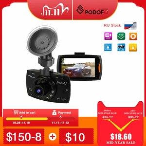 Image 1 - 2020 novo podofo g30 câmera do carro dvr completo hd 1080p 140 graus dashcam registradores de vídeo para carros visão noturna g sensor traço cam