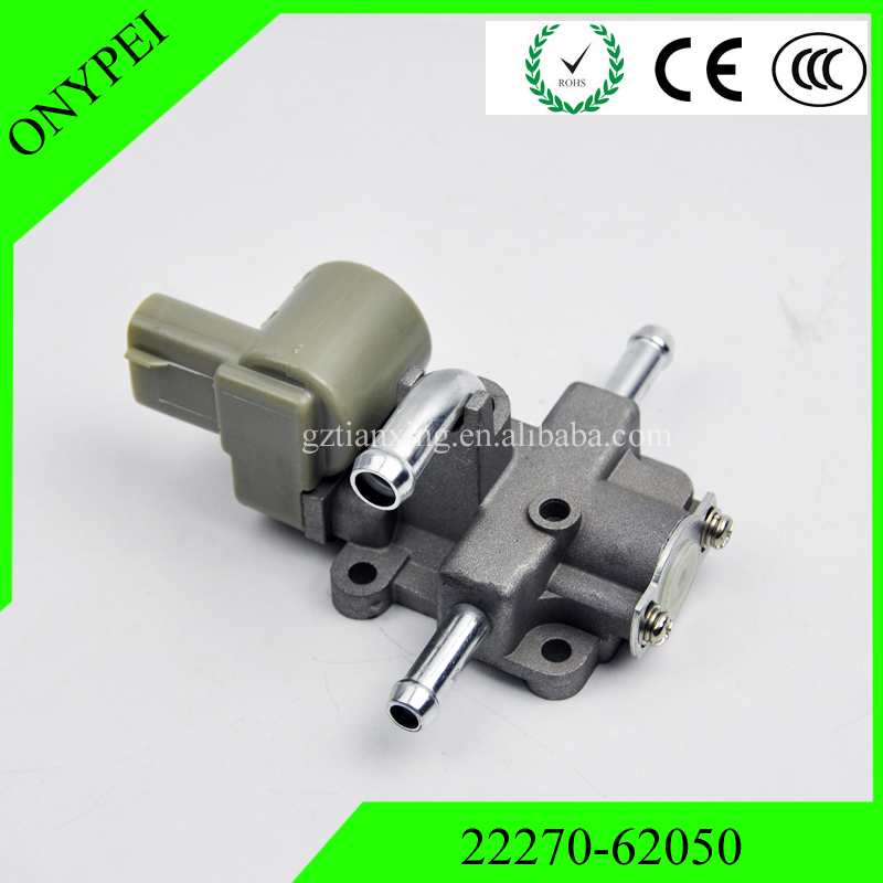 OEM# 22270-62050 Idle Air Control Valve For Toyota 4Runner T100 Tacoma Tundra 3.4L V6 2227062050