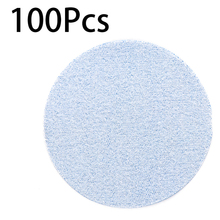 100pcs 3 Inch 3000 Round Grit Sandpaper Self Adhesive Mixed Sanding Polishing Tool Discs Hook Loop