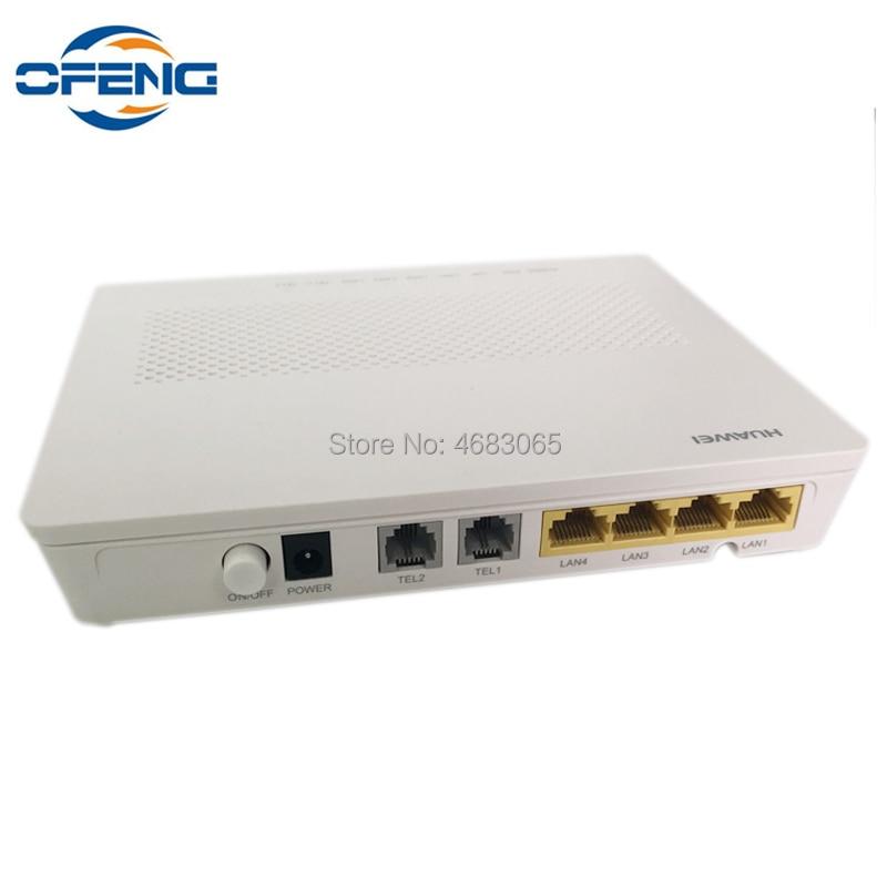 Original Huawei Modem Hg8240h Gpon Terminal 4FE+2TEL English Firmware Fiber Optic Onu Same Function As HG8245H HG8247H