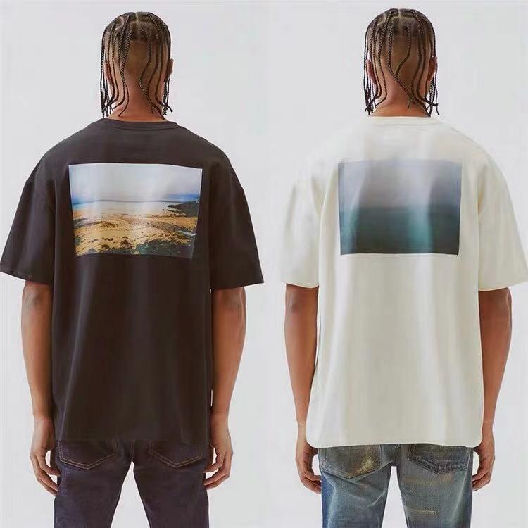 Best Version 1:1 Essentials Fog Style Women Men Printed T Shirts Tees Hiphop Streetwear Men Casual Cotton T Shirt Summer Style