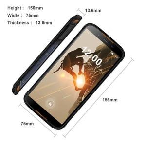 Image 5 - HOMTOM HT80 IP68 su geçirmez Smartphone 4G LTE Android 10 5.5 inç 18:9 HD + MT6737 NFC kablosuz şarj SOS cep telefonu
