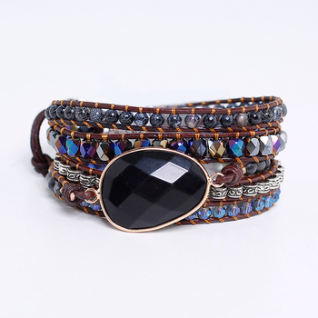 Onix Handmade Wrap Bracelet For Women