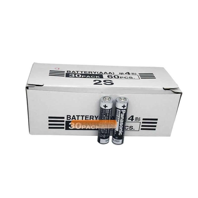 12 Cái/lốc Panasonic R03 1.5V Pin AAA Pin Kiềm Không Có Thủy Ngân Khô Cho Điện Đồ Chơi Đèn Pin Đồng Hồ Chuột