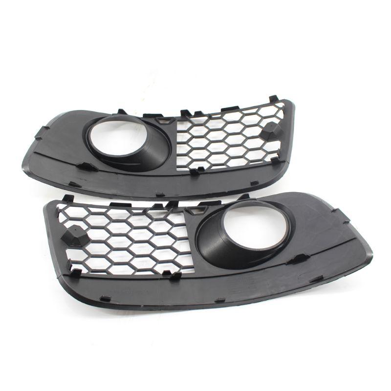 Honeycomb Hex Mesh Fog Light Open Vent Grilles For V~olkswagen for V~W for Jetta MK5 for G~TI GLI 2006-2009 Car Accesorios