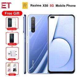 Zupełnie nowy telefon komórkowy Realme X50 5G 6.57
