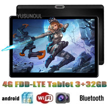Hohe Version Super DHL Freies 10 zoll Tablet MT6753 Octa Core 1920x1200 2,5 D IPS Bildschirm Dual 4G LTE 3 + 32GB ROM Android Tablet pc