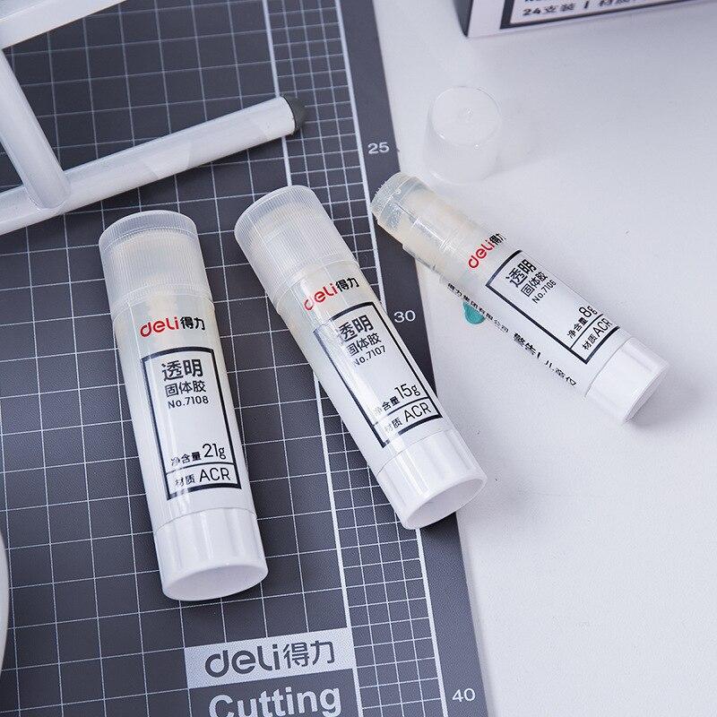 Solid Glue Students Office Supplies Glue Stick Glue Children Handmade Lesson Glue Stick Deli Stationery 7108