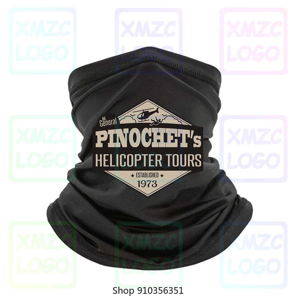 Pinochet - Pinochet Tours en hélicoptère établi populaire T-Shirt sans étiquette bandeau écharpe Bandana cou plus chaud femmes hommes