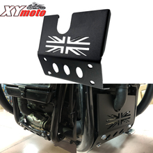 For TRIUMPH Bonneville Bobber Black Engin eprotection cover Chassis Under Guard Skid Plate  Motorcycle Engine protection cover