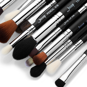 Image 3 - Jessup Professionele Make Up Kwasten Set Foundation Poeder Contour Oogschaduw Eyeliner 6 27Pcs Beauty Make Up Brush Cosmetica Tool