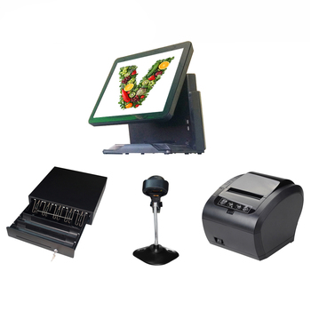 ComPOSxb pos terminal 15 inch touch screen possystems easy to operate pos all in one