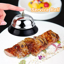 10x6cm Silver Hotel Service Bell Reception Desk Counter Ring For Restaurant Bar Ringer Counter Call Bell 3(China)