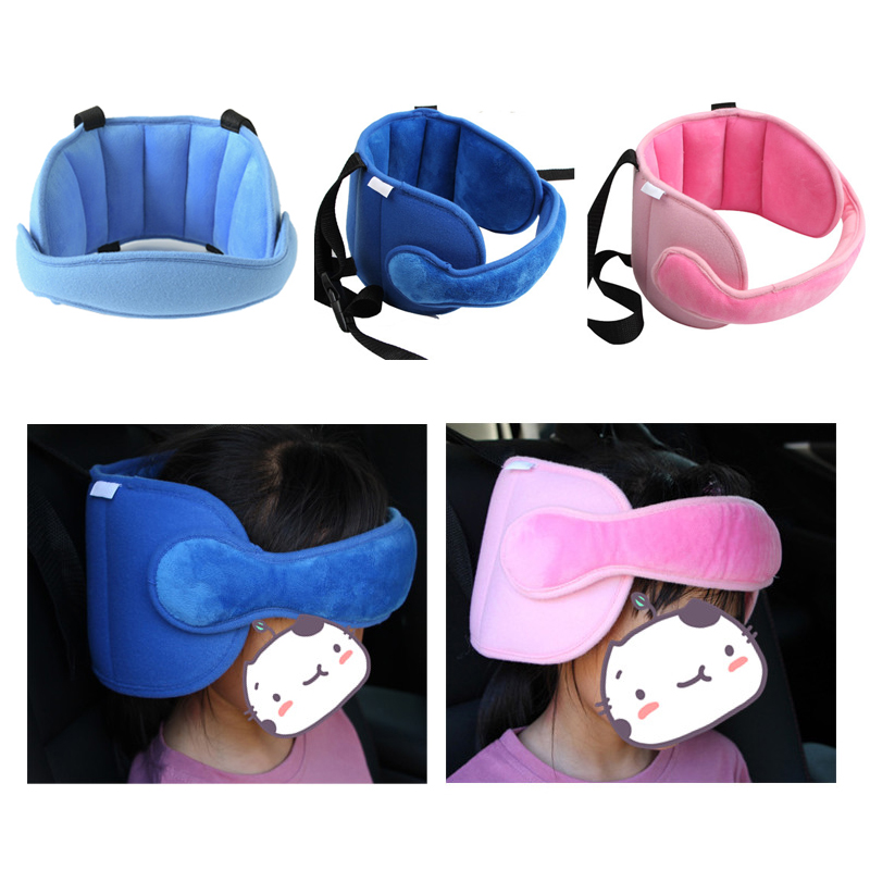 2 Pack Baby Car Seat Head Support Band Strap for Seats Stroller Headrest