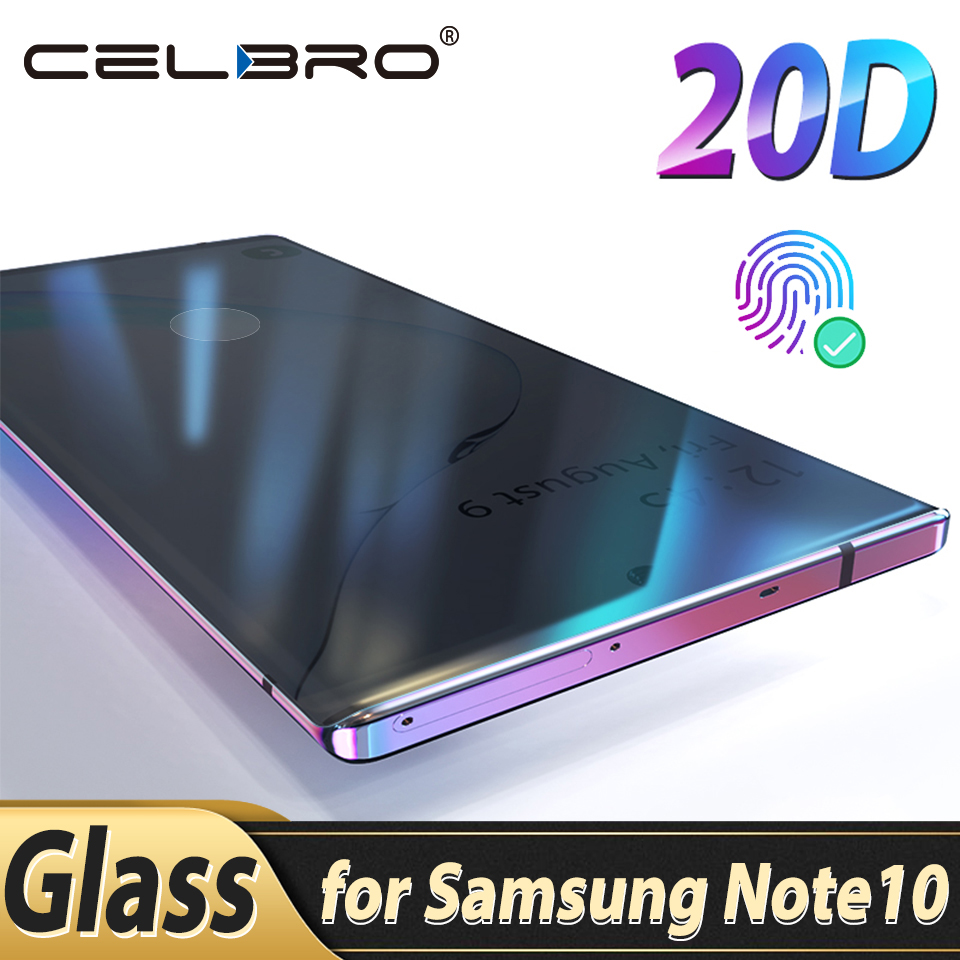 Tempered Glass For Samsung Galaxy Note 10 Plus Note10 Glass Protective Film Phone Screen Protector For Samsung Note 10+ Note10+