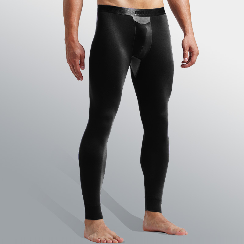 Men's Bullets Separate Autumn Pants Stretch Slim Leggings Basic Paragraph Autumn And Winter Youth Warm Pants Wholesale