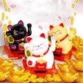 Китайский счастливый богатство развевающаяся кошка Золотая развевающаяся рука кошка домашний декор Добро пожаловать развевающаяся скуль...