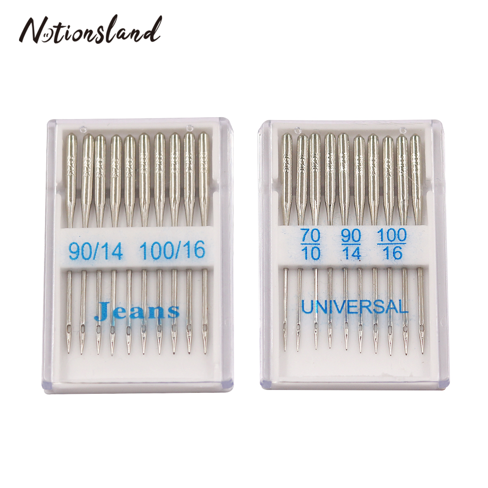 Sewing-Machine-Needles-Ball-Point-Head Silver Home Stainless-Steel General 20pcs/Set